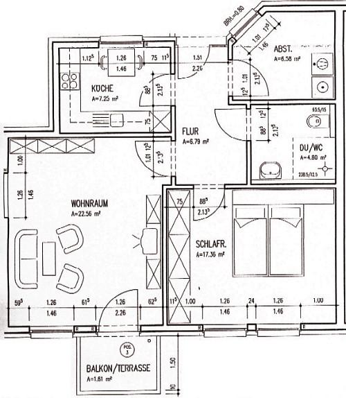2-Personen-Wohnung