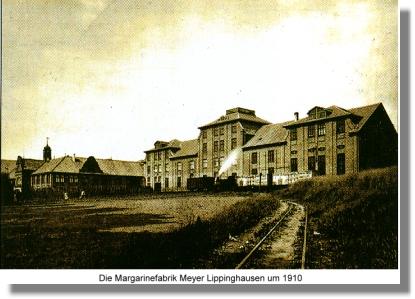 Die Margarinefabrik Meyer-Lippinghausen um das Jahr 1910