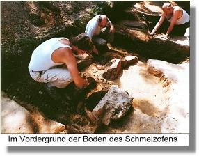 Ausgrabungsarbeiten im Ortsteil Oetinghausen
