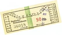 Bild einer Fahrkarte